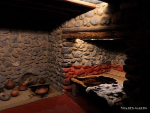 Muzeum Malowana Jaskinia - domy Guanchow